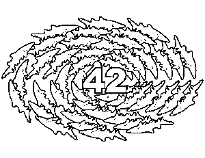 42 Sharks coloring page