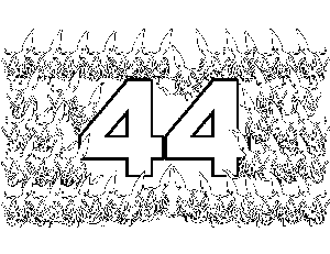 44 Dancing Squids coloring page