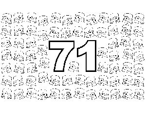 71 Hats With Flower coloring page