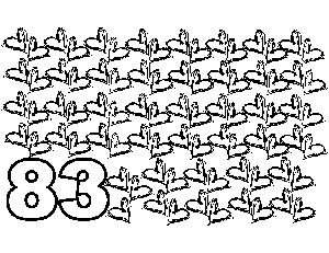 83 Scribble Hearts coloring page
