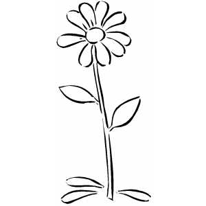 Beautiful Daisy coloring page