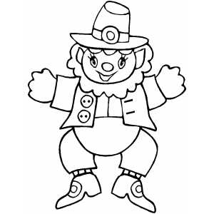 Leprechaun Toy coloring page