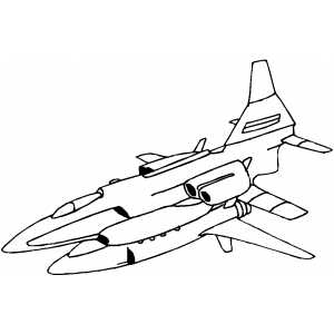 Battle Space Ship coloring page