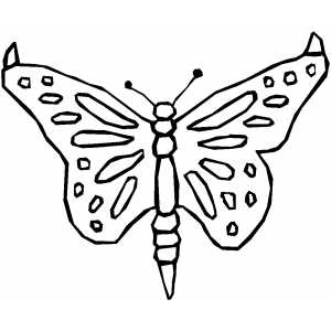 Butterfly Bug coloring page