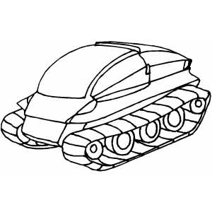 Ground Transport coloring page