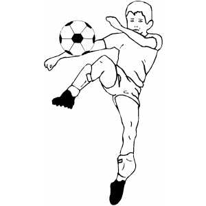 Soccer Strike coloring page