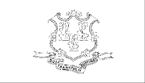 Connecticut State Flag Coloring Page
