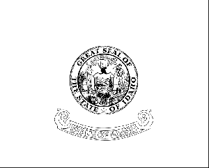 Idaho State Flag Coloring Page
