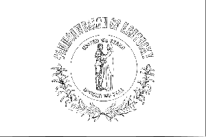 Kentucky State Flag Coloring Page