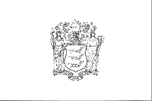 New Jersey State Flag Coloring Page