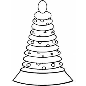 Ring Toy coloring page