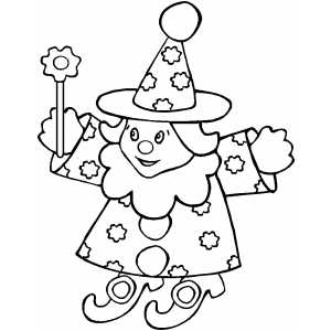 Wizard Doll coloring page