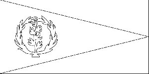 Eritrea Flag coloring page