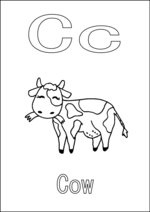 C is for Cow